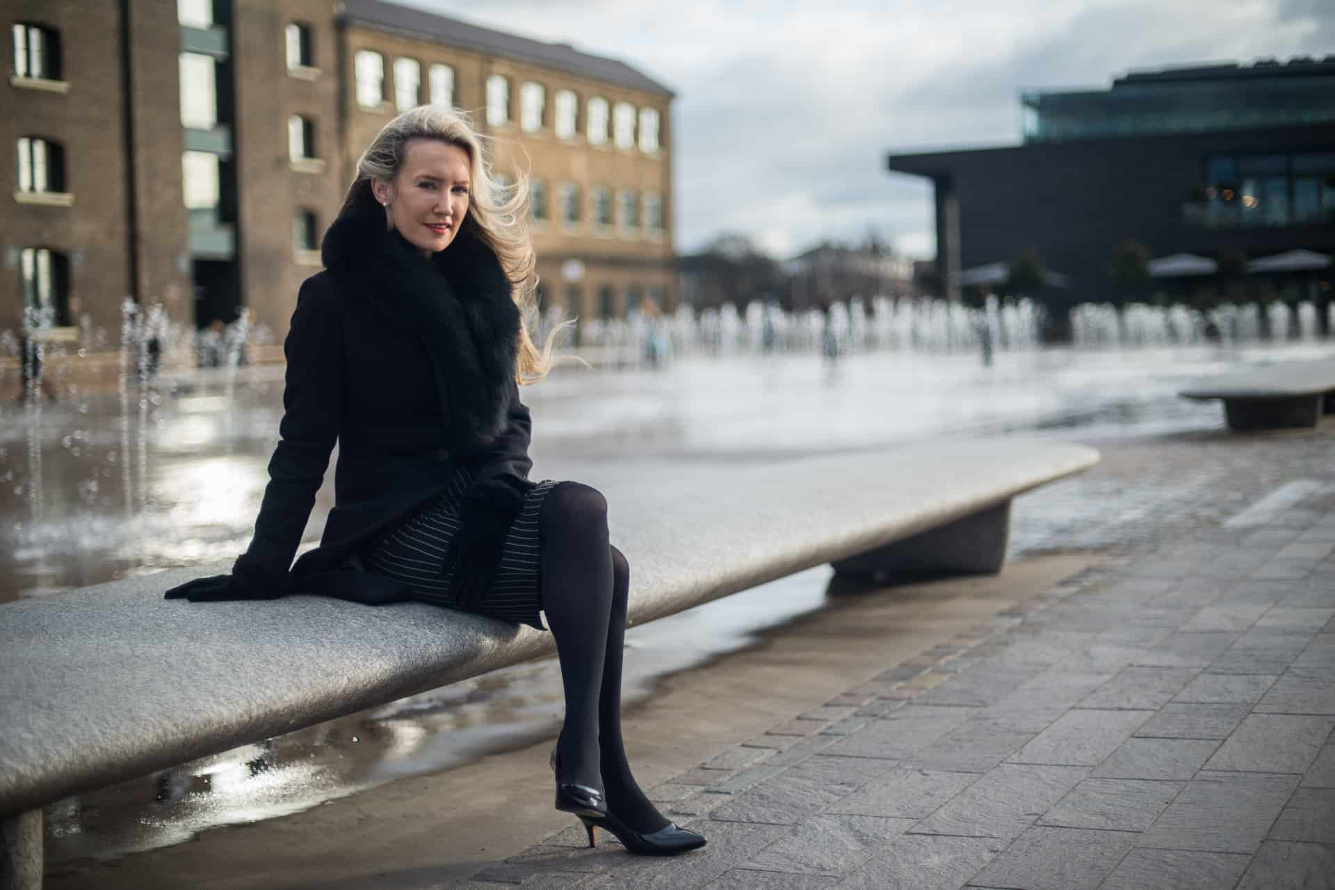 Corporate portrait in King's Cross London - Portrait Photography by Chris King of Open Eye Media